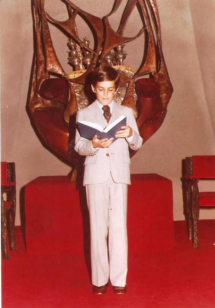 Bar Mitzva Sept 1977