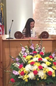 Amelia with Torah 2