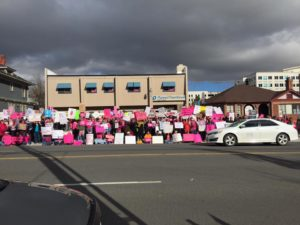 Planned Parenthood Counter protest
